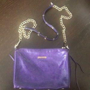 Rebecca Minkoff Mini 5-zip (purple)